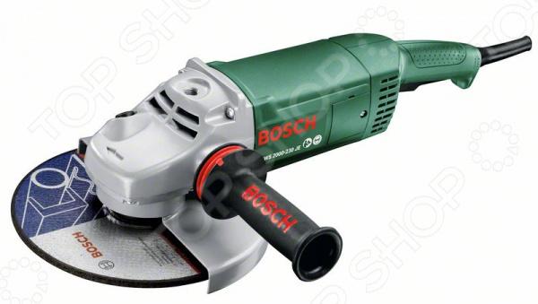 Машина шлифовальная угловая Bosch PWS 2000-230 JE шлифовальная машина bosch pws 700 115