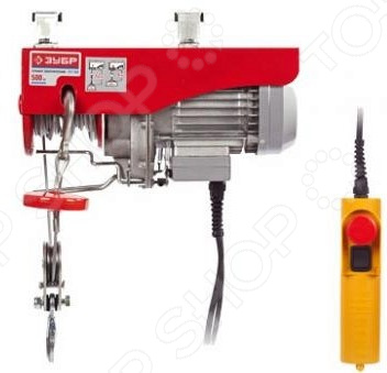 Тельфер электрический Зубр ЗЭТ-250 тельфер электрический einhell 1050 вт 600 кг
