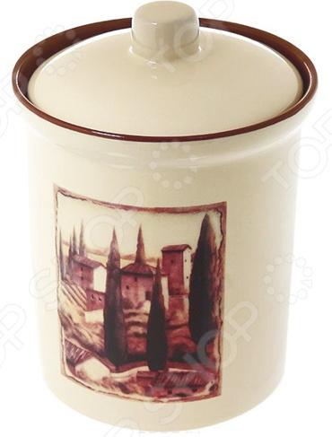 Банка для сыпучих продуктов Terracotta «Итальянская деревня»