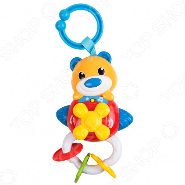 Игрушка подвесная музыкальная Clementoni «Медвежонок» музыкальная игрушка медвежонок августин