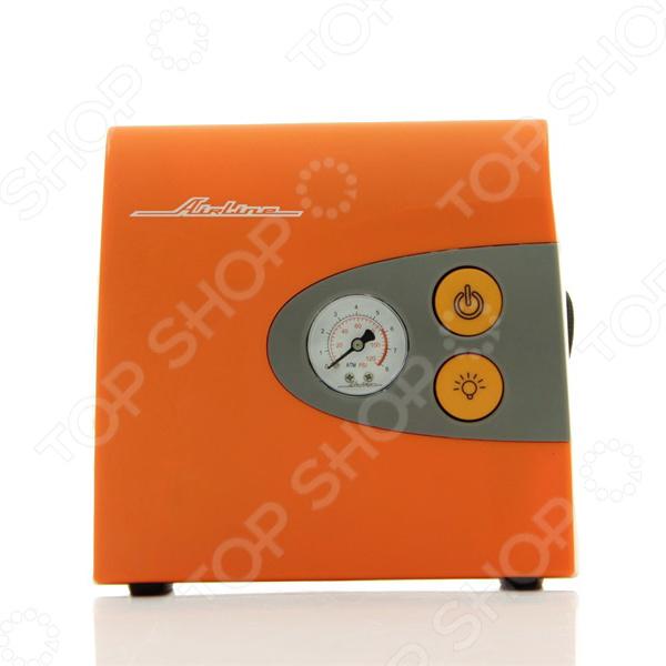 Компрессор автомобильный Airline MASTER L автомобильный компрессор airline master l с фонарем ca 030 13l