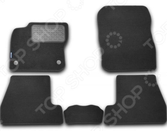 все цены на Комплект ковриков в салон автомобиля Novline-Autofamily Ford Focus 2011-2015 онлайн