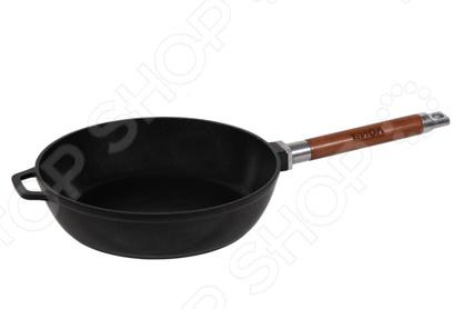 Сковорода литая со съемной ручкой БИОЛ Eco сковорода corset eco ceramic patlon