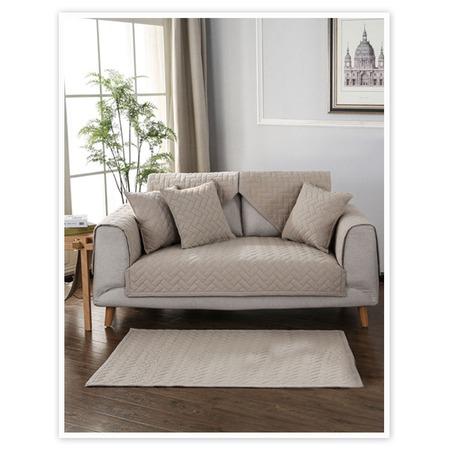 Купить Комплект накидок на двухместный диван Медежда «Корфу»