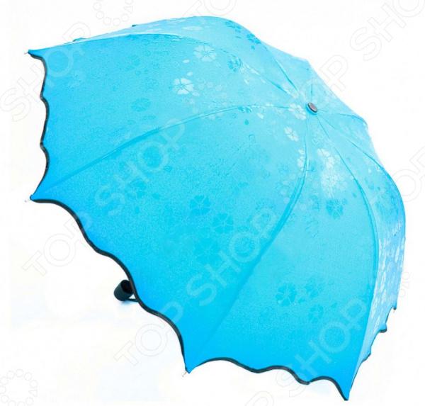Зонт с проявляющимся рисунком Bradex  Стильный аксессуар на любое время года! Достаточно большой диаметр...