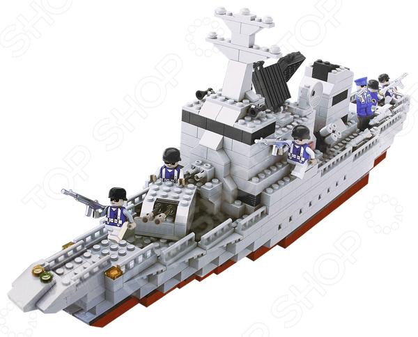 Конструктор игровой 1 Toy «Военная техника. Линкор» конструктор военная техника линкор