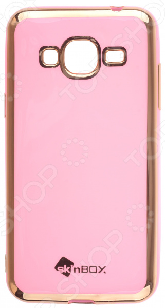 Чехол защитный skinBOX Samsung Galaxy J3 (2016) аксессуар чехол накладка samsung galaxy a3 2017 skinbox silicone chrome border 4people silver t s sga32017 008