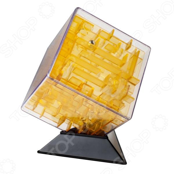 Головоломка Labirintus «Куб прозрачный» Головоломка Labirintus «Куб прозрачный» /Желтый