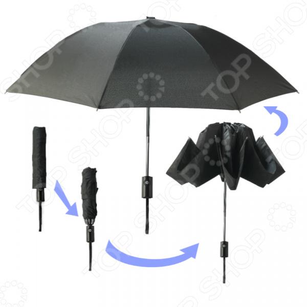 Умный зонт «Наоборот» Благодаря своему уникальному свойству этот зонт можно поместить...