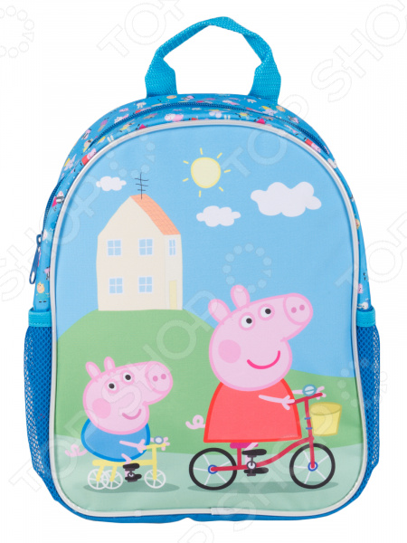 Рюкзак дошкольный Peppa Pig средний «Классика» цены