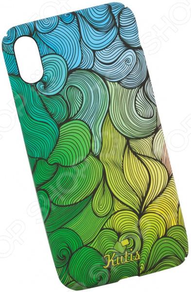 Чехол для iPhone X KUtiS Rainbow Hairs DK-7 чехол для iphone 7 8 kutis rainbow hairs dk 8