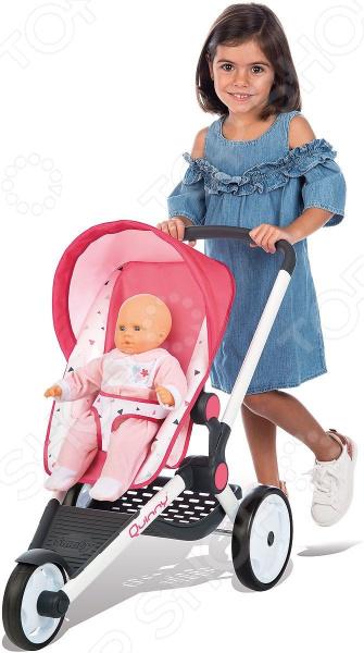 Коляска для кукол трехколесная Smoby MC&Quinny коляска трехколесная bbh 713