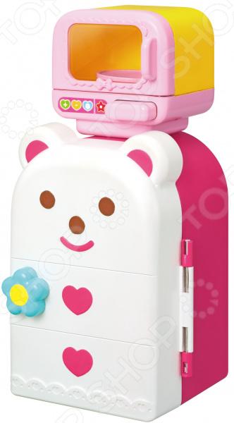 Аксессуары для куклы Kawaii «Холодильник с микроволновкой»