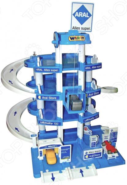Набор игровой для мальчика Wader Aral «Паркинг 4-уровневый»