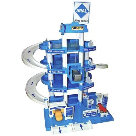 Купить Набор игровой для мальчика Wader Aral «Паркинг 4-уровневый»