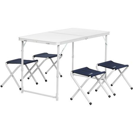 Купить Набор складной мебели: стол и табуреты Helios 0066902