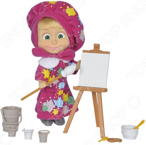 Набор игровой с куклой Simba «Маша в одежде художницы» кукла simba маша в одежде художницы с набором для рисования 12 см