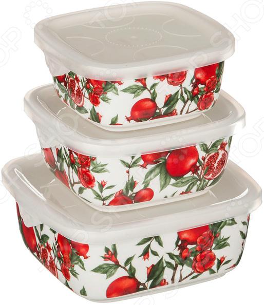 Набор блюд для заливного Lefard «Гранаты» 388-517