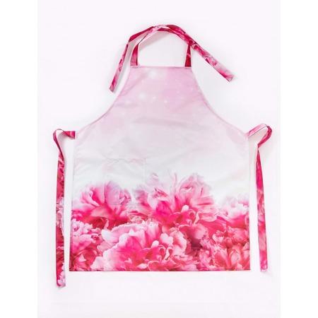 Купить Фартук Сирень «Влюбленная в цветы»