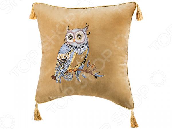 Подушка декоративная Santalino «Cова» 850-827-37 сидушка на стул santalino райский сад 850 818 5