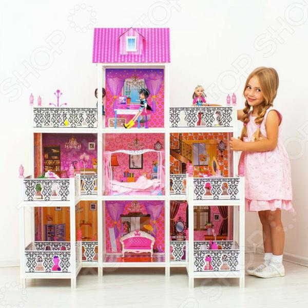 Кукольный дом с аксессуарами PAREMO PPCD116-08