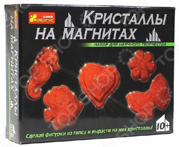 Набор для выращивания Ранок «Кристаллы на магнитах красные»