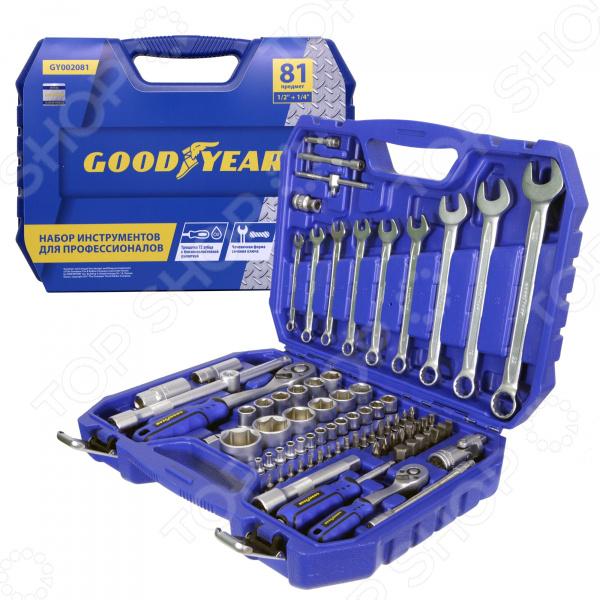 Набор инструментов Goodyear GY002081 mercury постельные принадлежности набор 4 штуки простыня с набивной чехол на одеяло 100