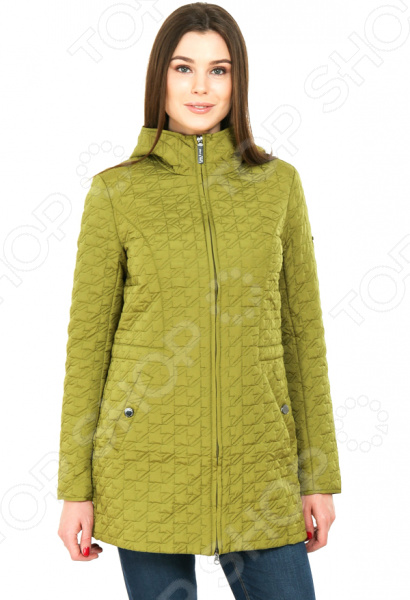 цена  Куртка Finn Flare B17-12078. Цвет: оливковый  онлайн в 2017 году