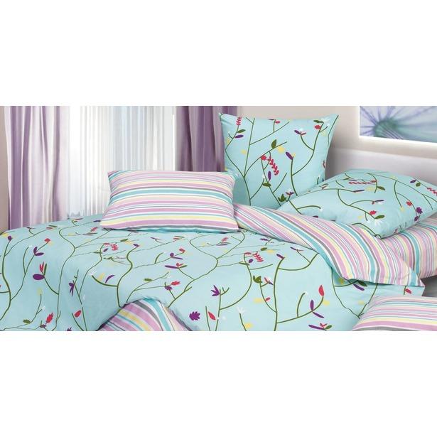 фото Комплект постельного белья Ecotex «Гармоника. Вербена». Семейный