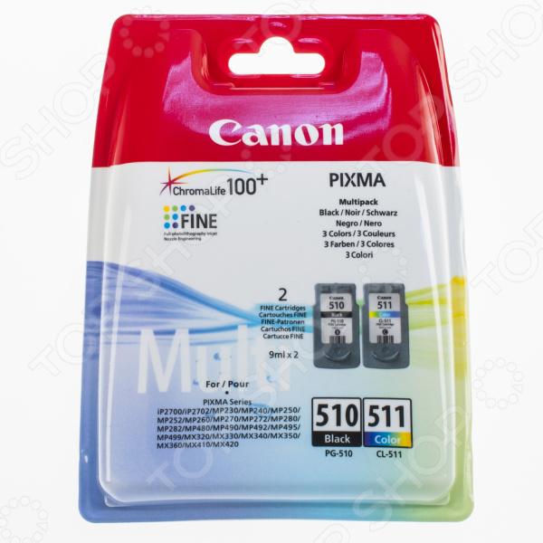 Картридж струйный Canon PG-510/CL-511