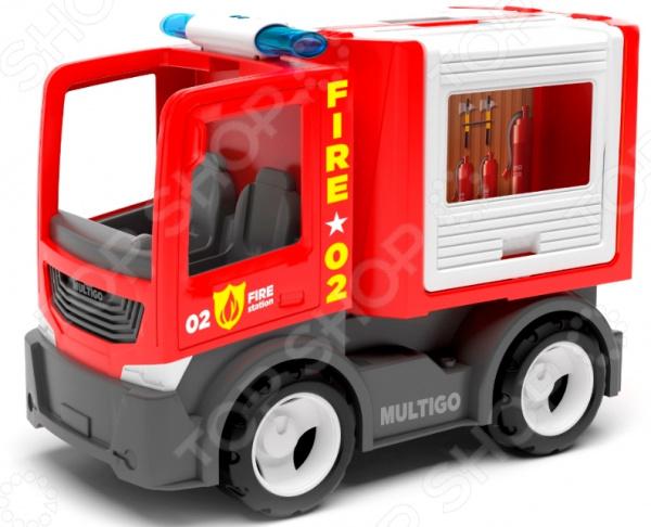 Машинка игровая EFKO «Пожарная машина для команды»