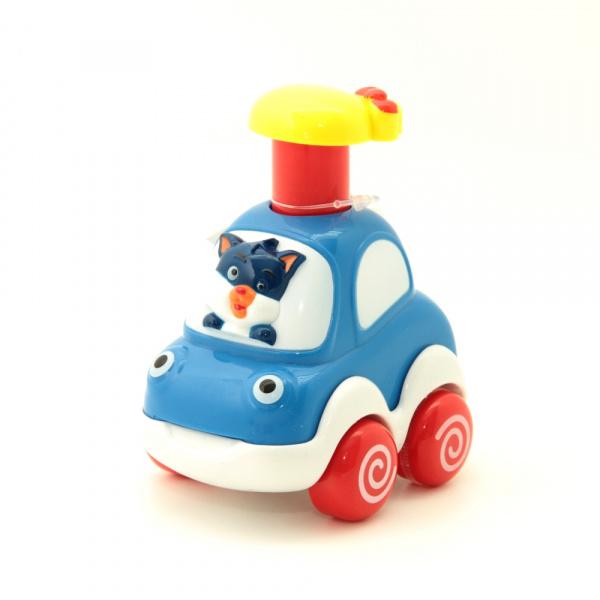 Машинка игрушечная Balbi «Веселые Зверята» PT-004. В ассортименте машинки balbi веселые зверята