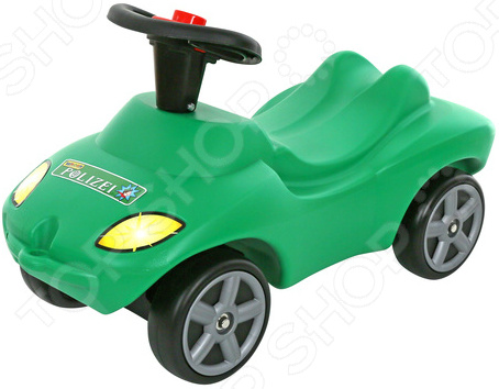 Машина-каталка Wader со звуковым сигналом «Полиция»