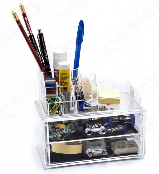Органайзер для мелочей Bradex TD-0487 органайзер для мелочей и косметики artmoon belle из двух частей 24x14x15 и 22x12 5x8 см акрил