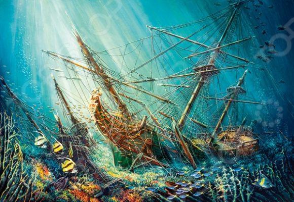 Пазл 1000 элементов Castorland «Морское сокровище»