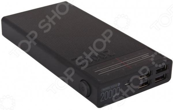 Аккумулятор внешний REMAX Radio RPP-102 аккумулятор remax jumbook series rpp 86 20000mah silver