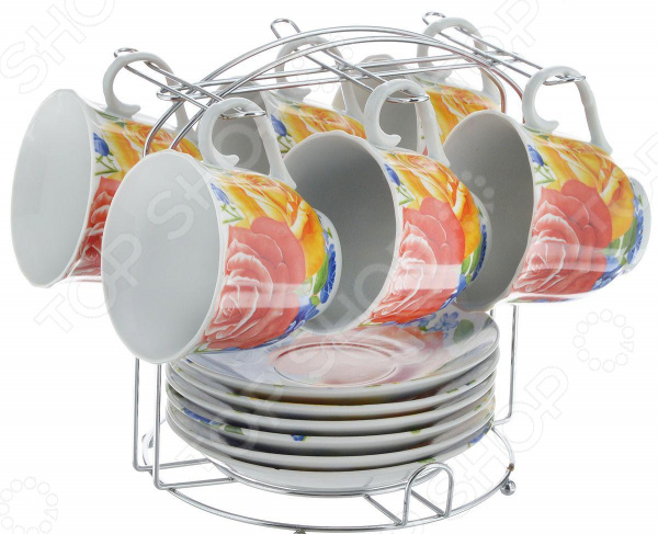 Набор чайный OlAff Metal Stand DL-F6MS-175 набор чайный olaff metal stand dl f6ms 174
