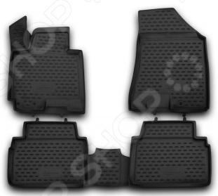 Комплект 3D ковриков в салон автомобиля Novline-Autofamily KIA Sportage 2010-2016 автомобильный коврик novline nlc 25 33 210h kia sportage 2010 2016