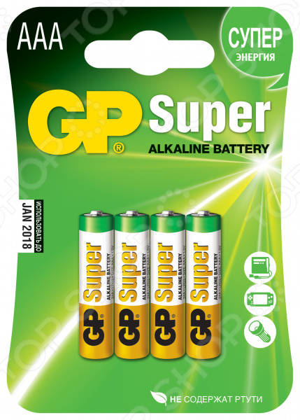 Элемент питания GP Batteries 24A-2CR4 элемент питания gp 24a bc2
