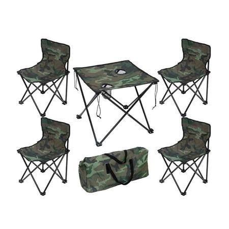 Купить Набор туристической мебели: стол и стулья Ecos TD-09