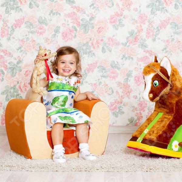 Кресло детское PAREMO «Котенок»