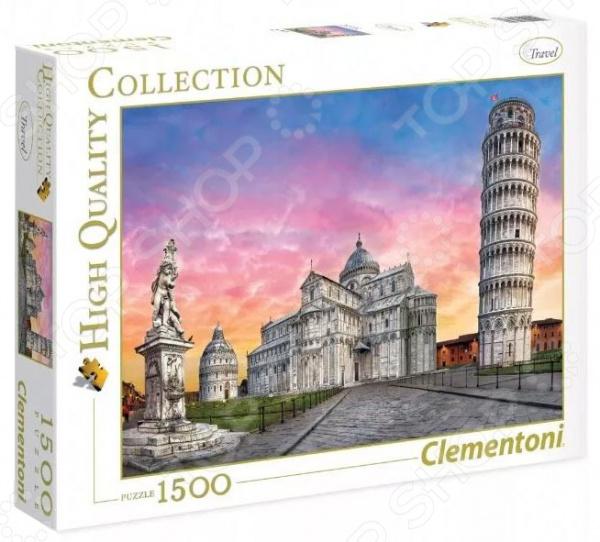 Пазл 1500 элементов Clementoni HQ «Пизанская башня» clementoni пазл hq вороной конь в море 500