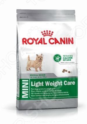 Корм сухой для собак мелких пород Royal Canin Mini Light Weight Care корм сухой royal canin mini light weight care для взрослых собак склонных к ожирению 2 кг