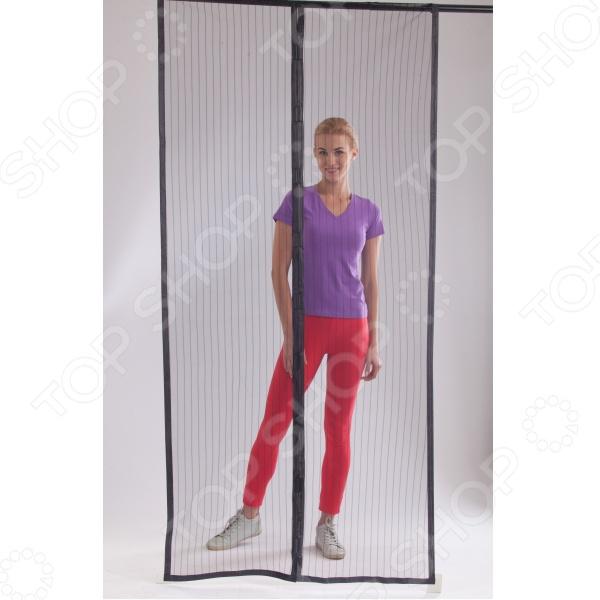 Сетка магнитная для дверей от насекомых «Маскитофф» 2
