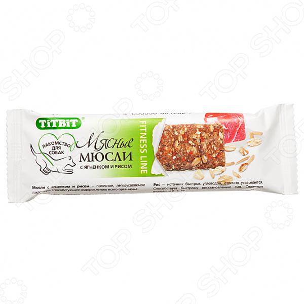 titbit 1608 Fitness «Мюсли с ягненком и рисом» 55362