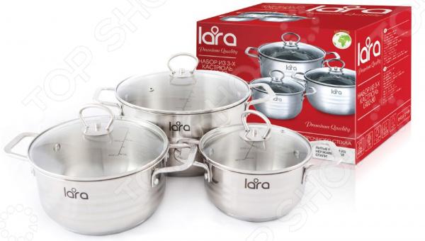 Набор посуды LARA Standart LR02-80 lara apple lr02 33