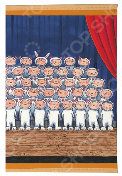 Обложка для автодокументов Mitya Veselkov «Мальчики-зайчики»