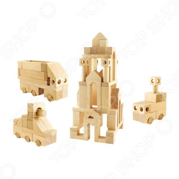 Конструктор деревянный Теремок «Геометрические фигуры №3» hot wheels hw91602 машинка хот вилс на батарейках свет звук красная 13 см