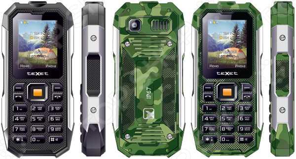 Мобильный телефон защищенный Texet TM-518R мобильный телефон рация защищенный texet tm 515r