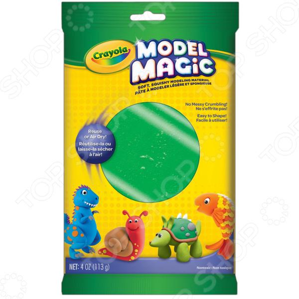 Пластилин застывающий Crayola «Волшебный» Пластилин застывающий Crayola «Волшебный» /Зеленый